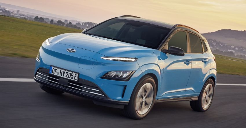 2021 Hyundai Kona Electric – up to 484 km in range from 64 kWh battery; updated infotainment, safety kit Image #1207167