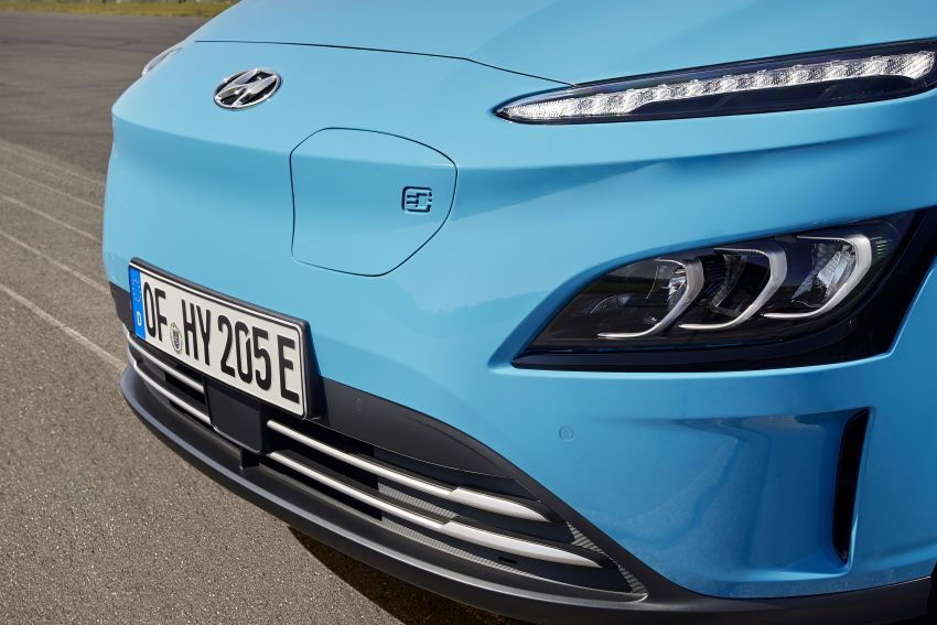 2021 Hyundai Kona Electric – up to 484 km in range from 64 kWh battery; updated infotainment, safety kit Image #1207166