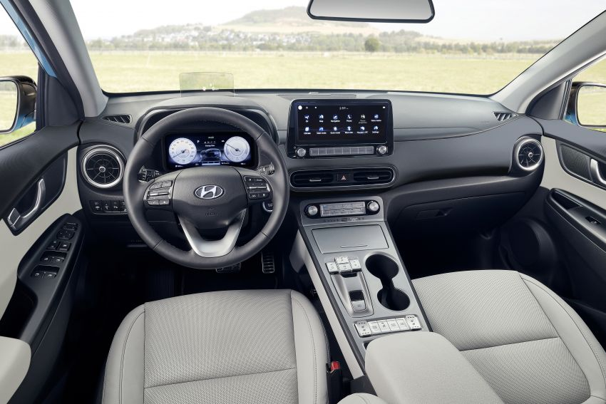 2021 Hyundai Kona Electric – up to 484 km in range from 64 kWh battery; updated infotainment, safety kit Image #1207153