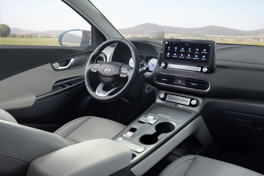 2021 Hyundai Kona Electric – up to 484 km in range from 64 kWh battery; updated infotainment, safety kit Image #1207152