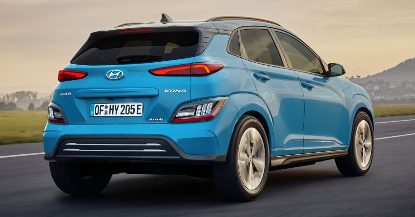 2021 Hyundai Kona Electric – up to 484 km in range from 64 kWh battery; updated infotainment, safety kit Image #1207164