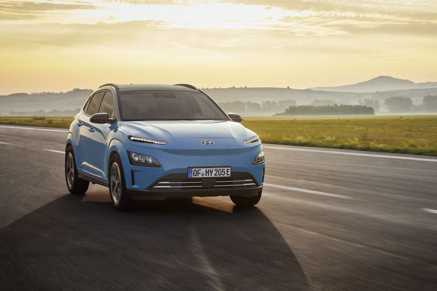 2021 Hyundai Kona Electric – up to 484 km in range from 64 kWh battery; updated infotainment, safety kit Image #1207155