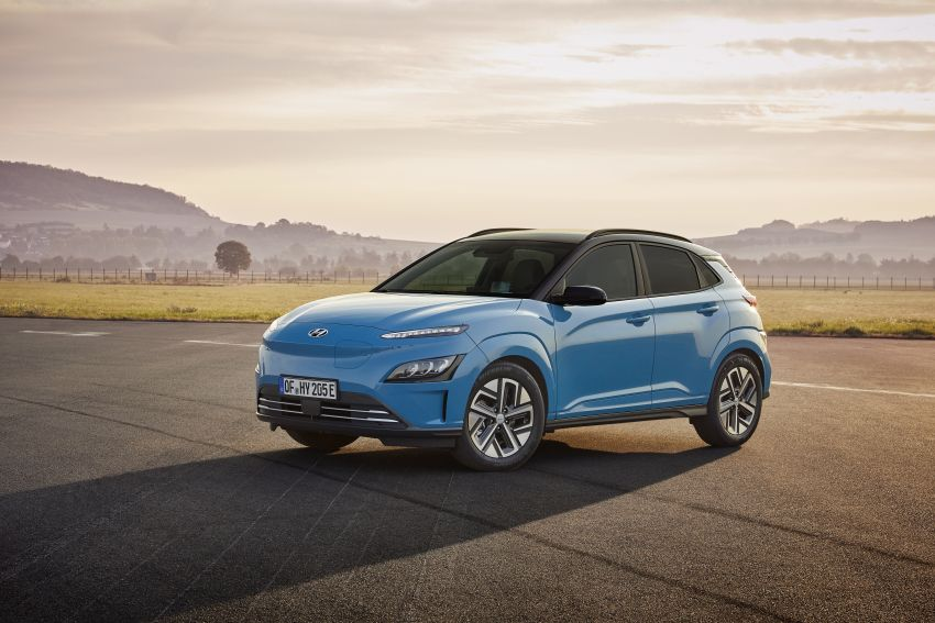 2021 Hyundai Kona Electric – up to 484 km in range from 64 kWh battery; updated infotainment, safety kit Image #1207151