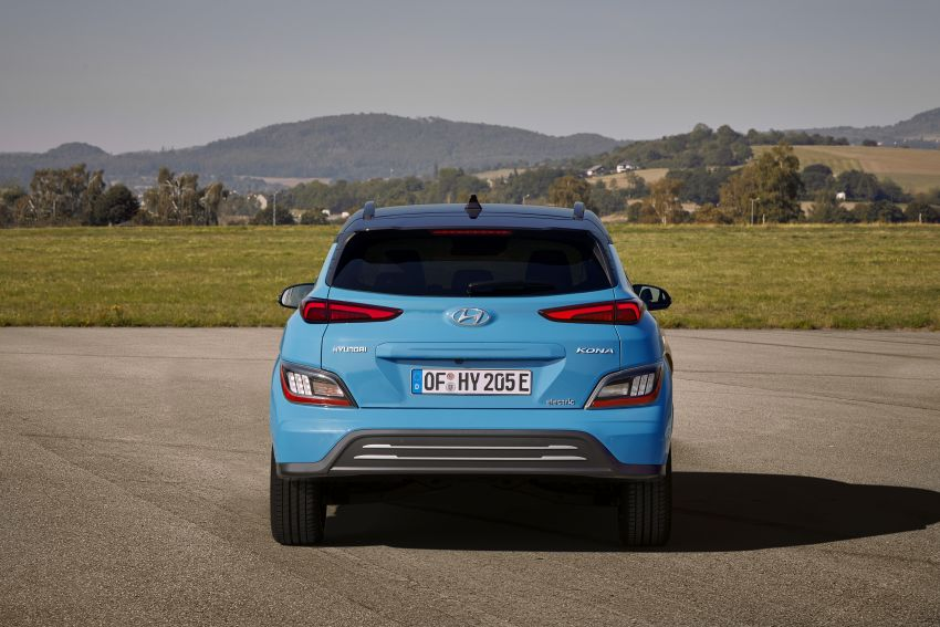 2021 Hyundai Kona Electric – up to 484 km in range from 64 kWh battery; updated infotainment, safety kit Image #1207170