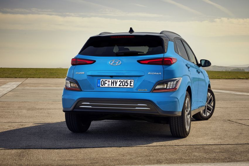2021 Hyundai Kona Electric – up to 484 km in range from 64 kWh battery; updated infotainment, safety kit Image #1207158