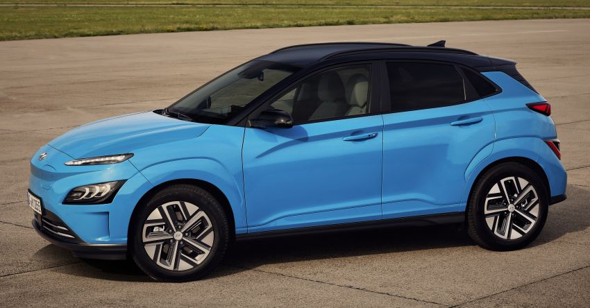 2021 Hyundai Kona Electric – up to 484 km in range from 64 kWh battery; updated infotainment, safety kit Image #1207147