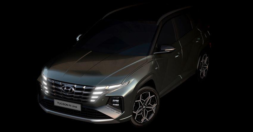 2021 Hyundai Tucson N Line teased – to get 300 hp? Image #1206209