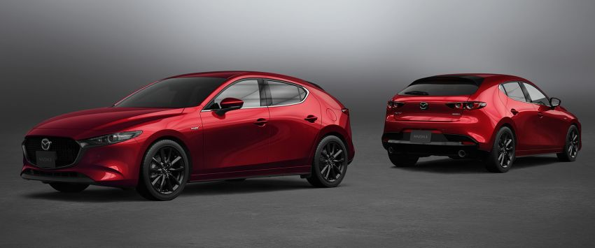 2021 Mazda 3 launched in Japan – more power from Skyactiv-X, improved safety, manual for Skyactiv-G 2.0 Image #1214851