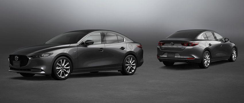 Mazda 3 2021 di Jepun – padu dari Skyactiv-X, keselamatan dipertingkat, manual untuk Skyactiv-G 2.0 Image #1215155