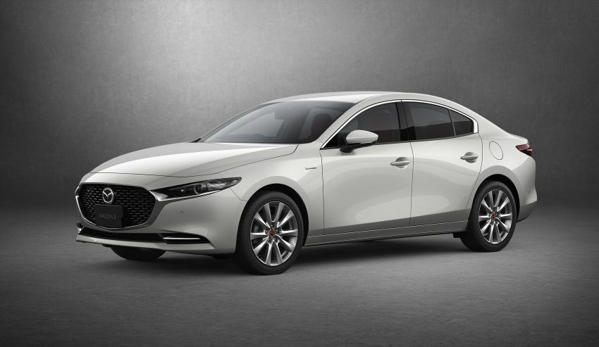 2021 Mazda 3 launched in Japan – more power from Skyactiv-X, improved safety, manual for Skyactiv-G 2.0 Image #1214860