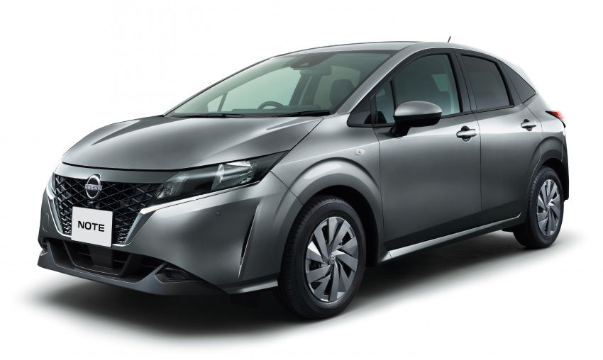 2021 Nissan Note unveiled, only e-Power for third-gen Image #1215631