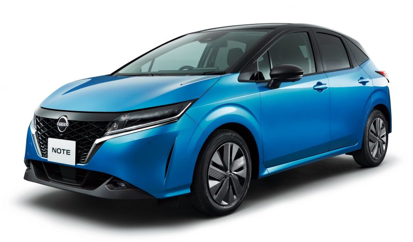 2021 Nissan Note unveiled, only e-Power for third-gen Image #1215643