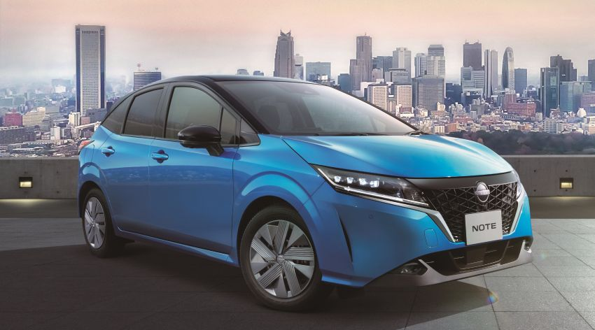 2021 Nissan Note unveiled, only e-Power for third-gen Image #1215645