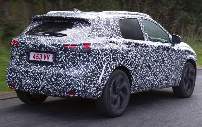 2021 Nissan Qashqai – next-gen Euro SUV gets teased Image #1209721