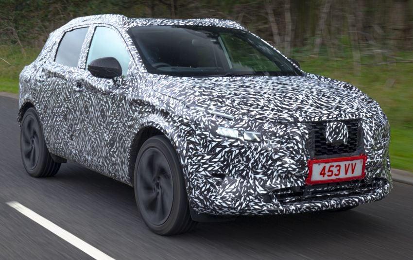 2021 Nissan Qashqai – next-gen Euro SUV gets teased Image #1209717