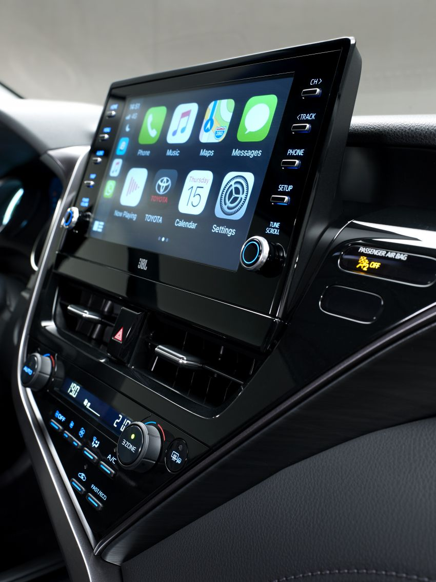 Toyota Camry Hybrid facelift debuts in Europe – larger infotainment display, expanded Toyota Safety Sense Image #1215363