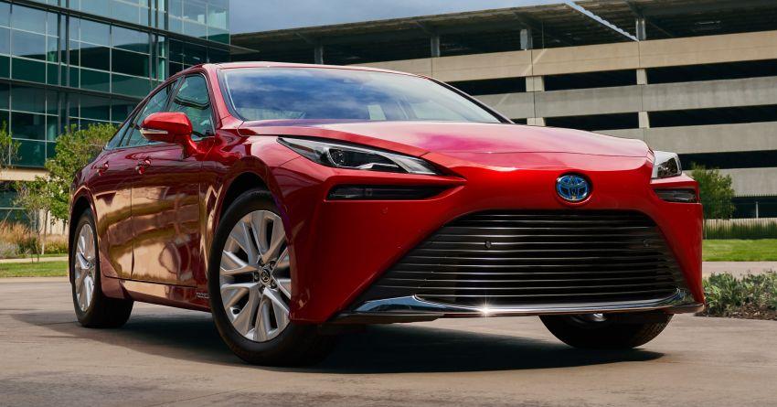 2021 Toyota Mirai detailed for US market – Dec launch Image #1210982