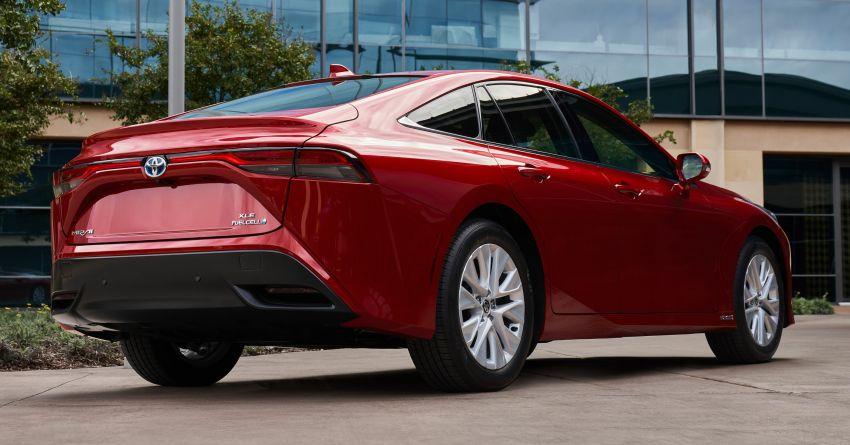 2021 Toyota Mirai detailed for US market – Dec launch Image #1210983