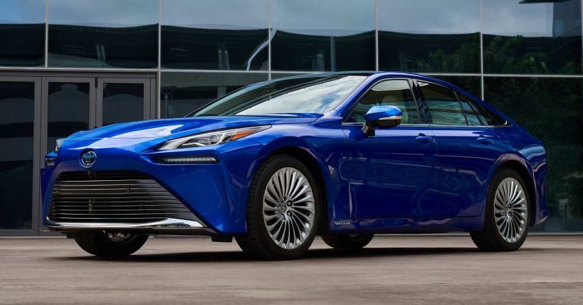 2021 Toyota Mirai detailed for US market – Dec launch Image #1210984