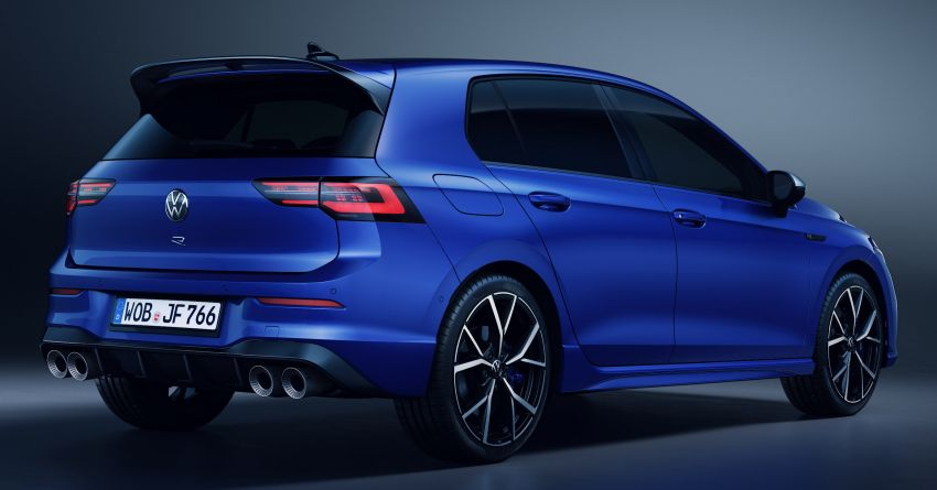 Volkswagen Golf R Mk8 officially revealed – 315 hp and 420 Nm; zero to 100 km/h in 4.7 seconds; Drift mode Image #1203289