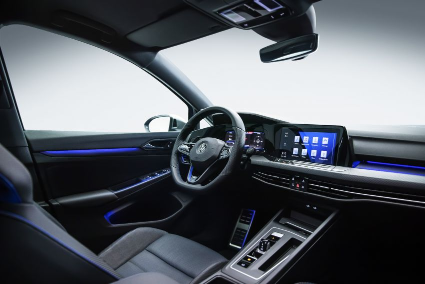Volkswagen Golf R Mk8 didedahkan – 2.0 liter turbo berkuasa 320 PS/400 Nm, sistem AWD ada Drift Mode! Image #1203304