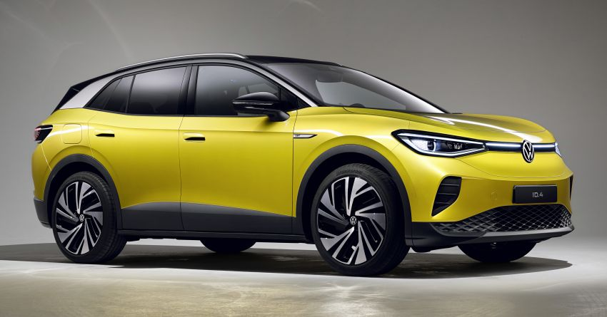 2021 Volkswagen ID.4 – electric SUV chassis detailed Image #1215902