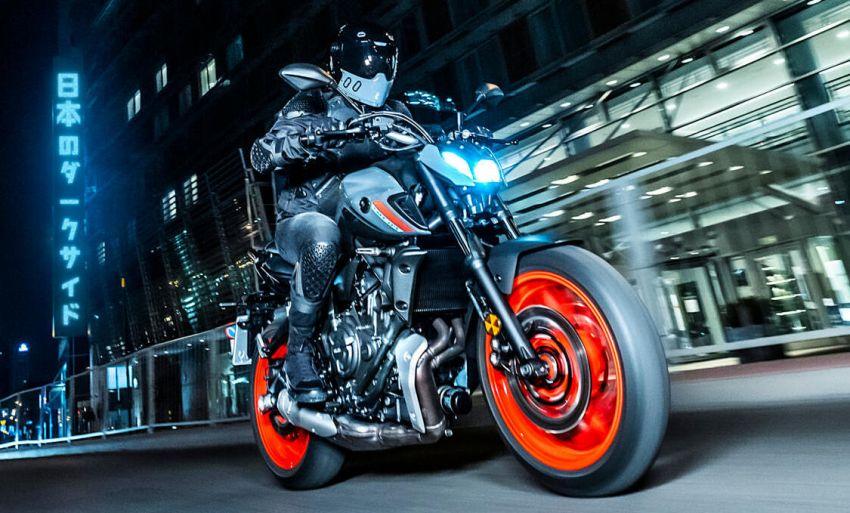 2021 Yamaha MT-07 released, new headlight, bodywork Image #1203426