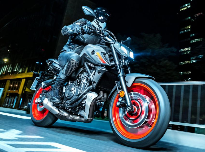 2021 Yamaha MT-07 released, new headlight, bodywork Image #1203430
