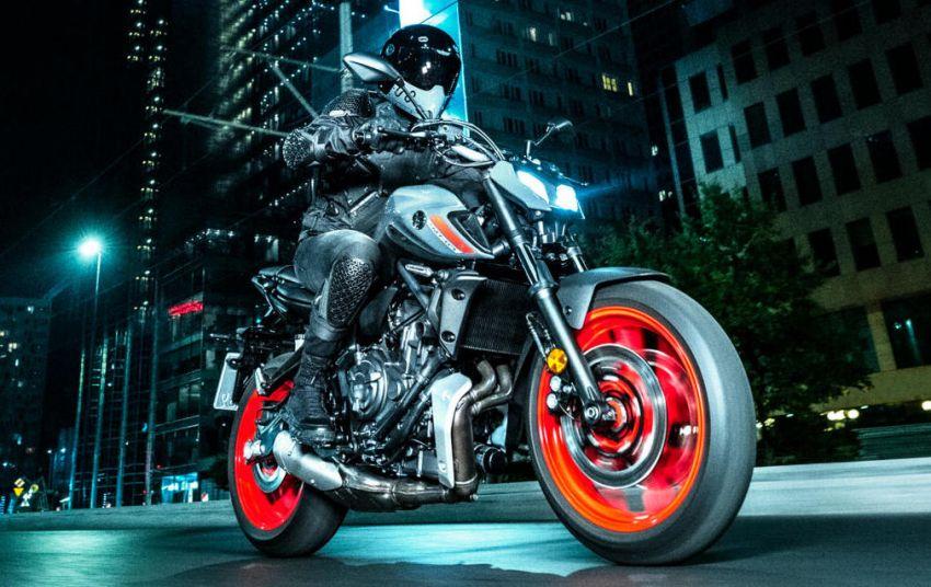 2021 Yamaha MT-07 released, new headlight, bodywork Image #1203431