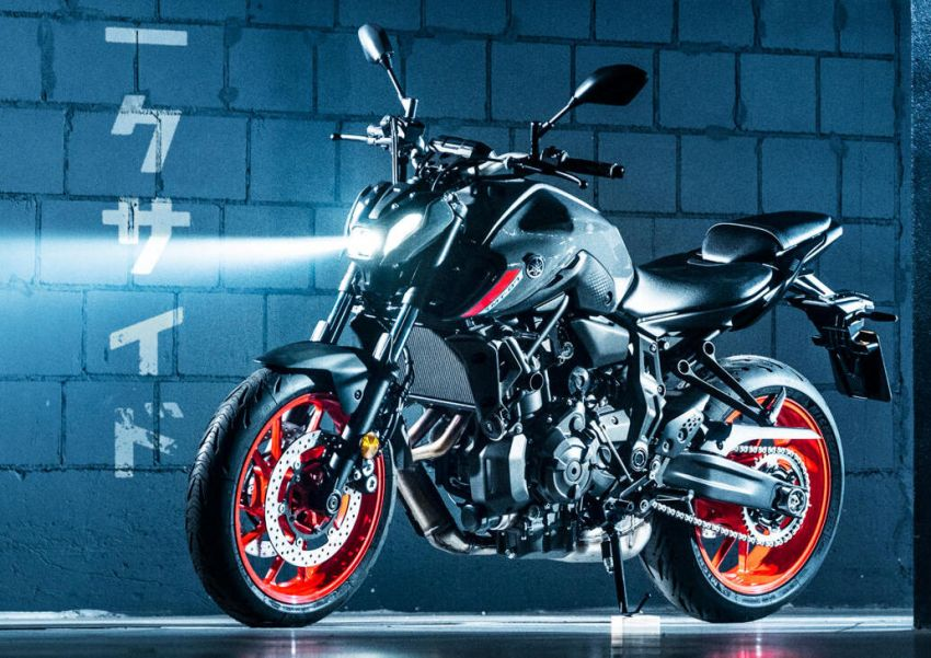 2021 Yamaha MT-07 released, new headlight, bodywork Image #1203435