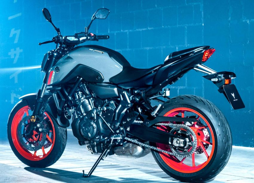 2021 Yamaha MT-07 released, new headlight, bodywork Image #1203436