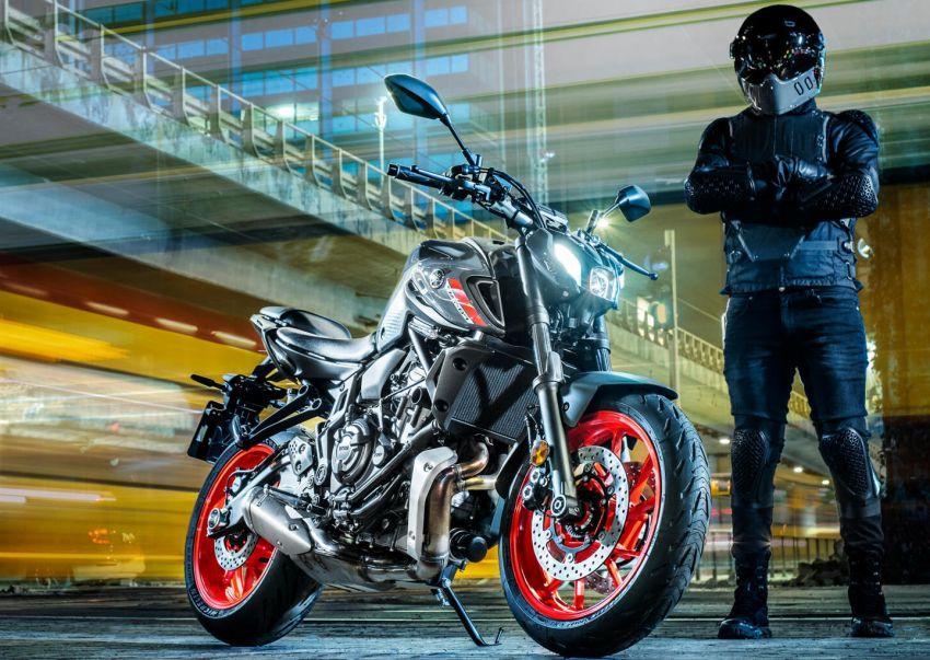 2021 Yamaha MT-07 released, new headlight, bodywork Image #1203441