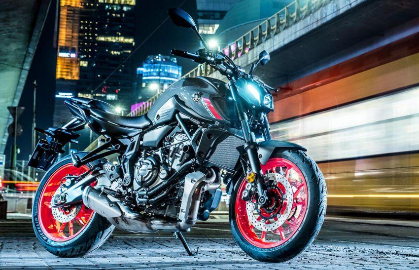 2021 Yamaha MT-07 released, new headlight, bodywork Image #1203442