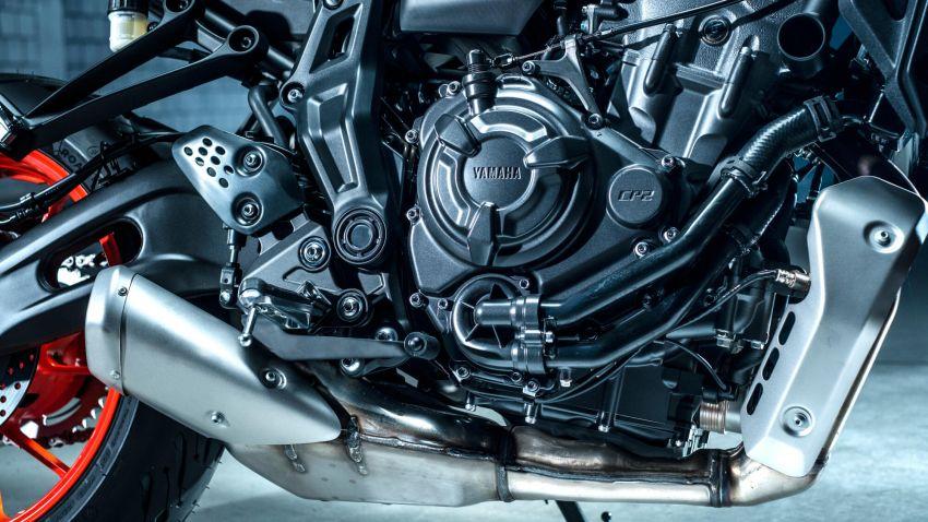 2021 Yamaha MT-07 released, new headlight, bodywork Image #1203419