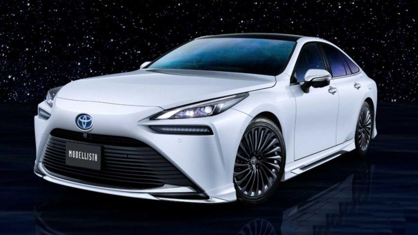 2021 Toyota Mirai FCEV receives Modellista bodykit Image #1213822