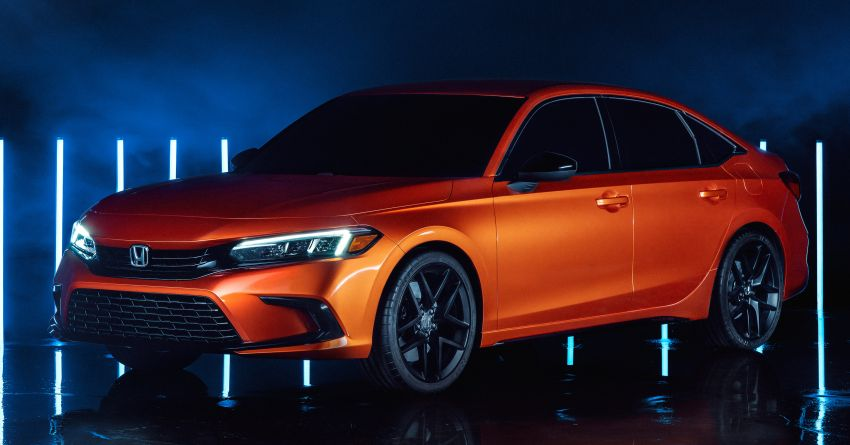 2022 Honda Civic debuts in prototype form – 11th-gen C-segment sedan previewed with all-new design Image #1211616