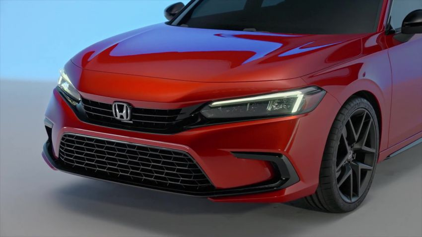 2022 Honda Civic debuts in prototype form – 11th-gen C-segment sedan previewed with all-new design Image #1212543