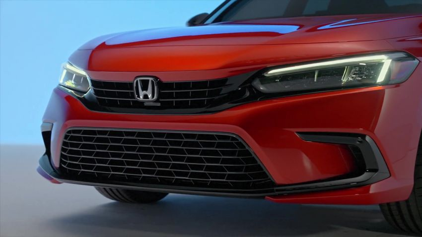 2022 Honda Civic debuts in prototype form – 11th-gen C-segment sedan previewed with all-new design Image #1212544