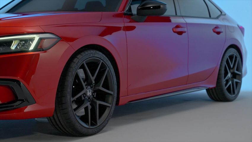 2022 Honda Civic debuts in prototype form – 11th-gen C-segment sedan previewed with all-new design Image #1212545