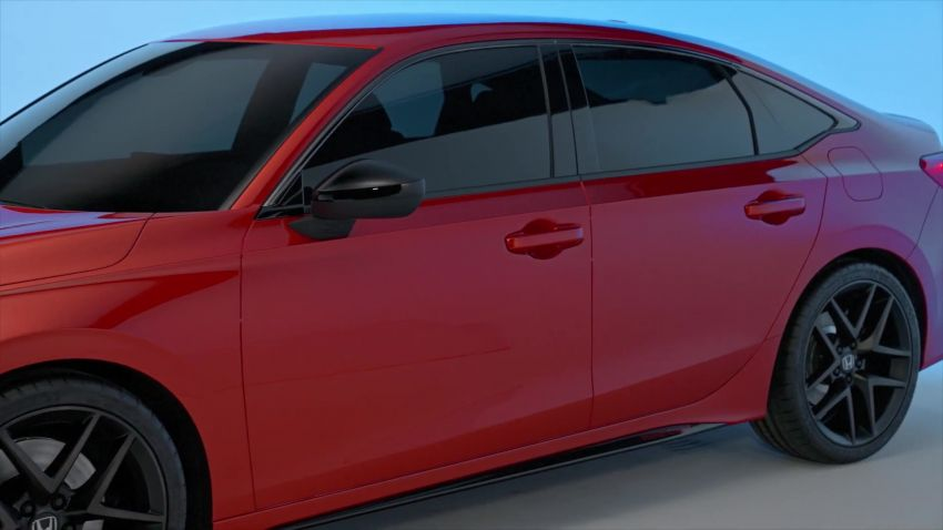 2022 Honda Civic debuts in prototype form – 11th-gen C-segment sedan previewed with all-new design Image #1212546
