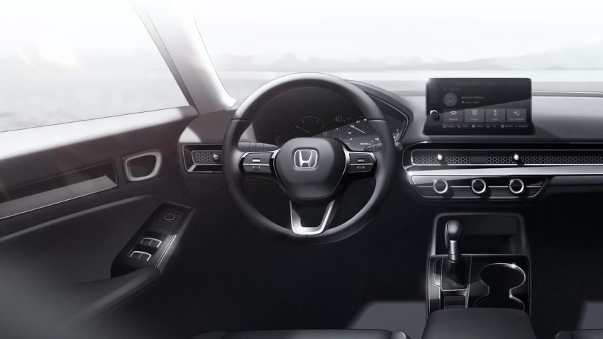2022 Honda Civic debuts in prototype form – 11th-gen C-segment sedan previewed with all-new design Image #1212549