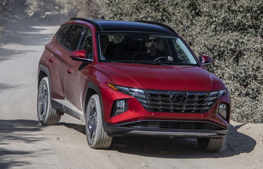 2022 Hyundai Tucson – USA gets LWB, hybrid, PHEV Image #1206345