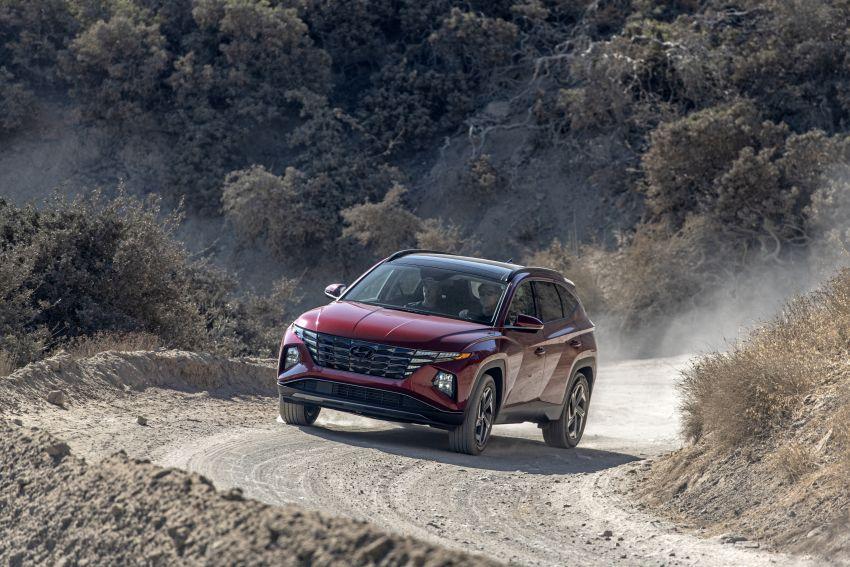 2022 Hyundai Tucson – USA gets LWB, hybrid, PHEV Image #1206346