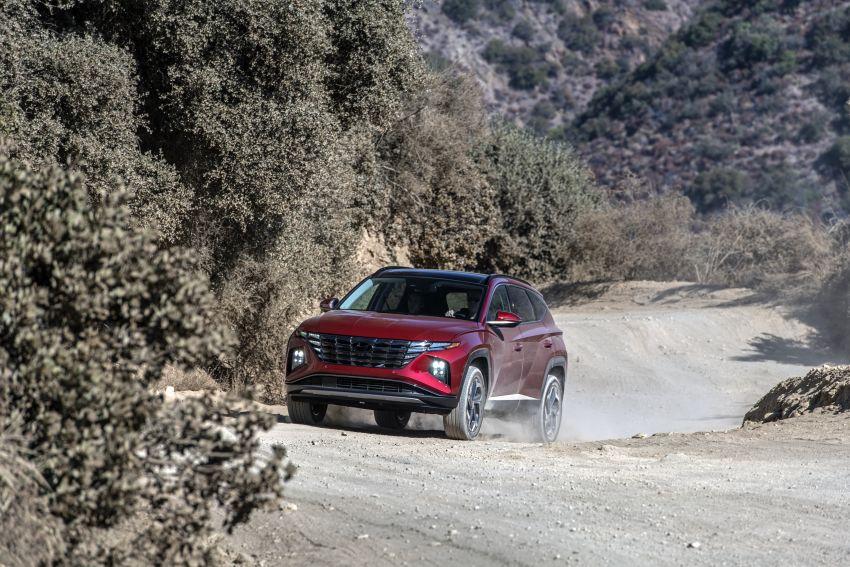 2022 Hyundai Tucson – USA gets LWB, hybrid, PHEV Image #1206349