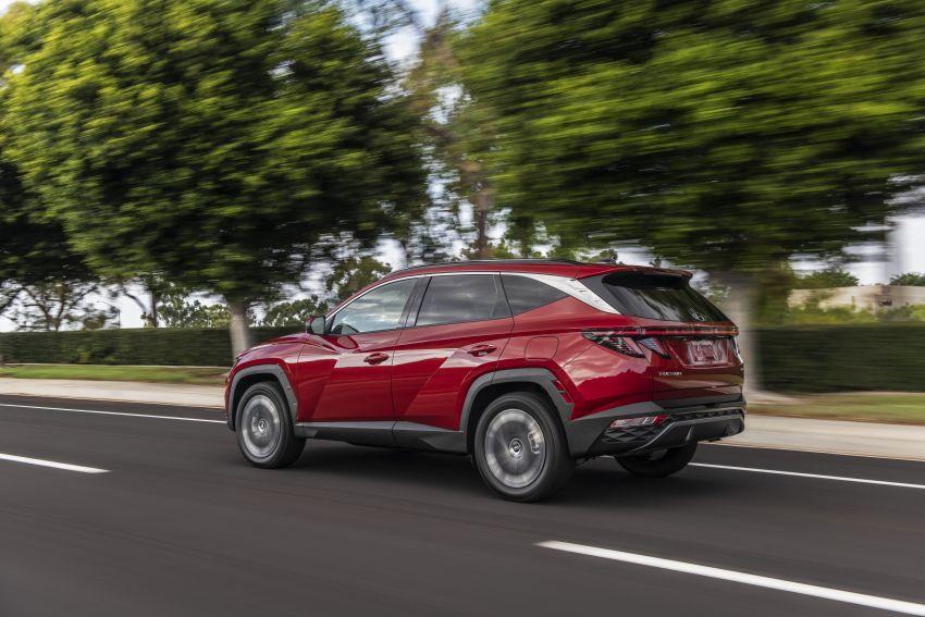 2022 Hyundai Tucson – USA gets LWB, hybrid, PHEV Image #1206333