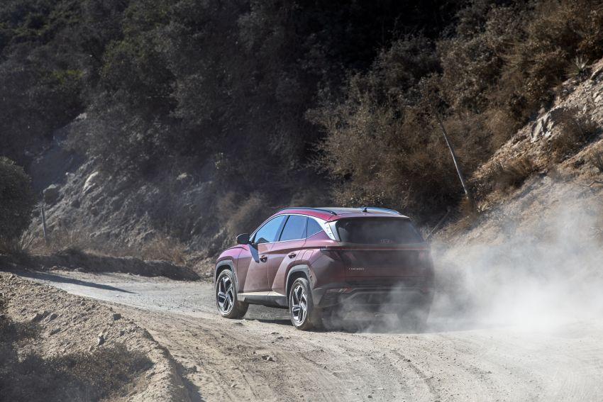 2022 Hyundai Tucson – USA gets LWB, hybrid, PHEV Image #1206359
