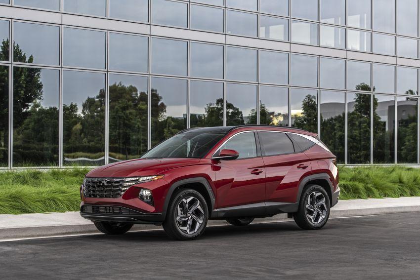 2022 Hyundai Tucson – USA gets LWB, hybrid, PHEV Image #1206360