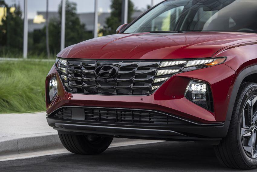 2022 Hyundai Tucson – USA gets LWB, hybrid, PHEV Image #1206363