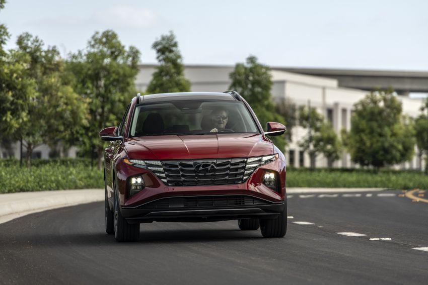 2022 Hyundai Tucson – USA gets LWB, hybrid, PHEV Image #1206335