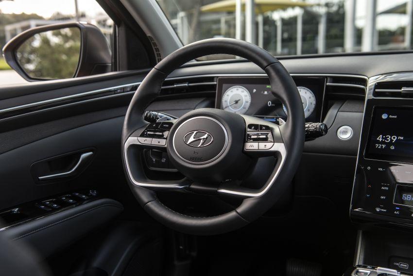 2022 Hyundai Tucson – USA gets LWB, hybrid, PHEV Image #1206378